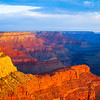 Grand Canyon's Grand Sunset at South Rim - Arizona, USA