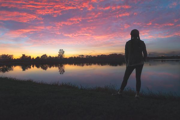 Sugar Land Memorial Park (Sunset)