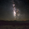Galactic Center of Milky Way over Fort Davis Mountains, West Texas