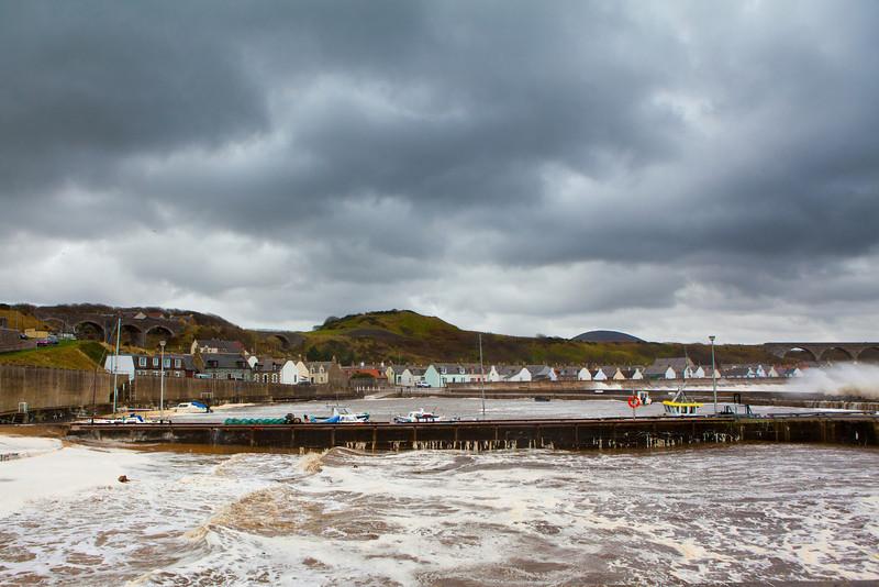 Cullen Harbour, Moray Scotland.