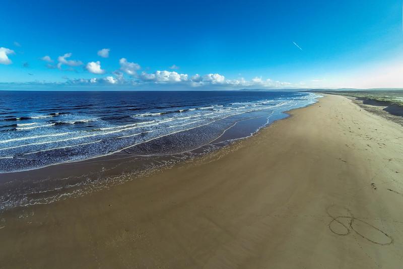 East Beach, Lossiemouth, Moray, Scotland.