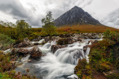 Glen Etive Waterfall