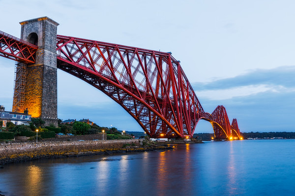 Forth Bridge Edinburgh Scotland