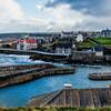 Portsoy Harbour, Aberdeenshire, Scotland.