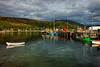 Ullapool harbour, Scotland
