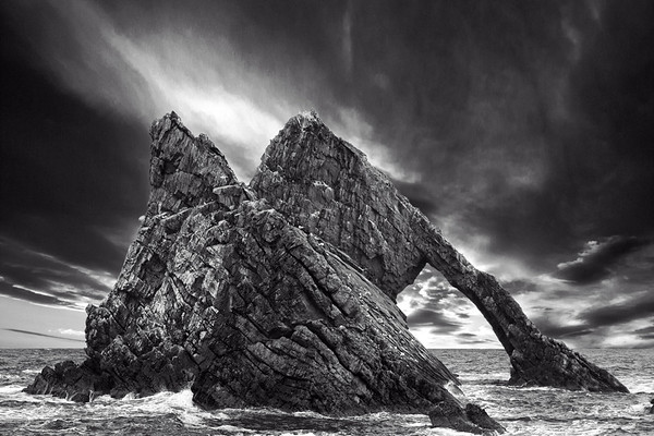 Bow Fiddle Rock, Portknockie, Moray, Scotland