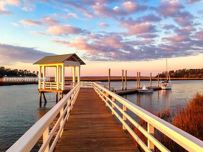 Dock Sunrise
