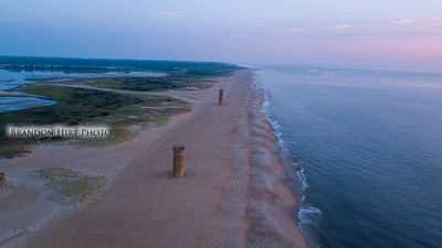 Cape Henlopen Towers Dawn