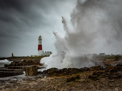 The Blow Hole At Portland Bill
