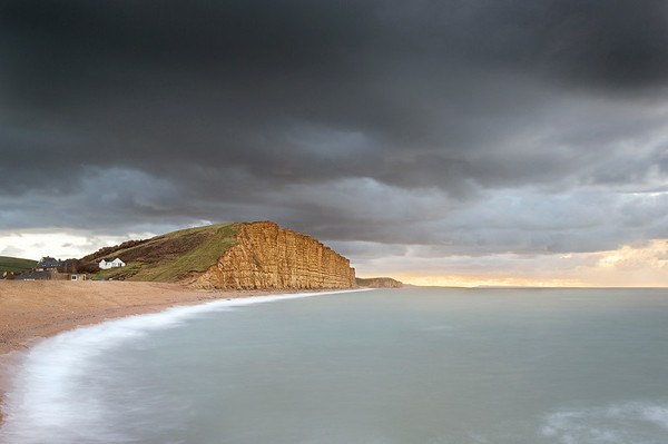 Stormy Sunrise at West Bay
