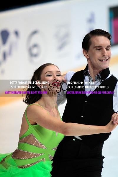 Olesia KARMI / Max LINDHOLM(FIN)