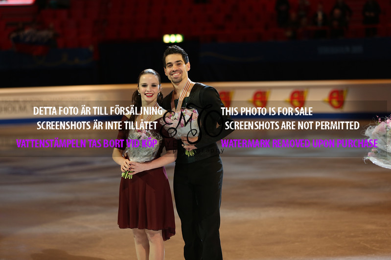 Silver  winners, Anna CAPPELLINI / Luca LANOTTE (ITA)