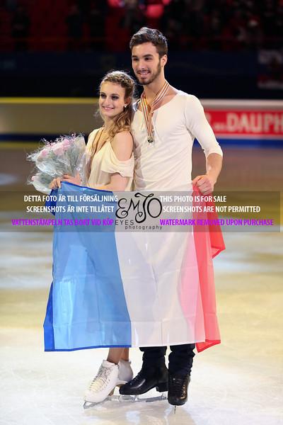 Gold  winners ,Gabriella PAPADAKIS / Guillaume CIZERON (FRA)