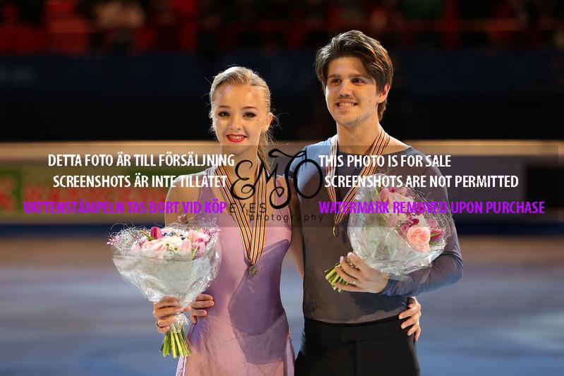 Bronze,  Alexandra STEPANOVA / Ivan BUKIN (RUS)