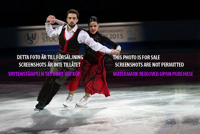 Sara HURTADO / Adria DIAZ ESP 5th Ice Dance Paso Doble & Flamenco (SD)