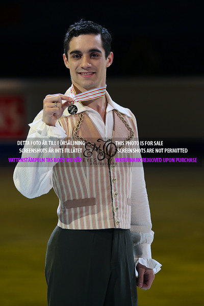 Gold Javier FERNANDEZ(ESP)