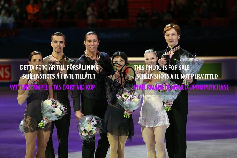 Ksenia STOLBOVA / Fedor KLIMOV, Yuko KAVAGUTI / Alexander SMIRNOV, Evgenia TARASOVA / Vladimir MOROZOV