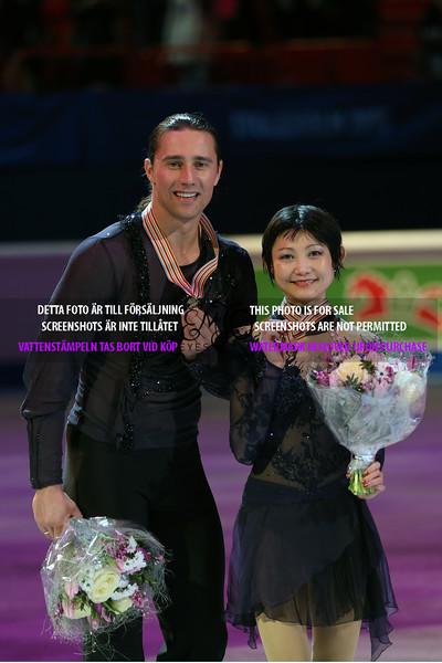 Gold medalists : Yuko KAVAGUTI / Alexander SMIRNOV