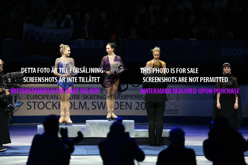 Silver Elena RADIONOVA (RUS), Gold Elizaveta TUKTAMYSHEVA (RUS) and Bronze Anna POGORILAYA (RUS)