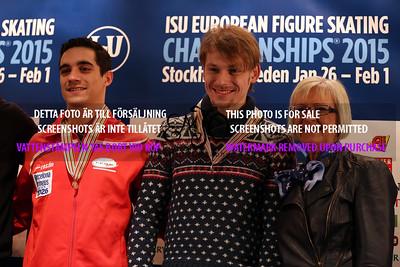 Javier FERNANDEZ (ESP) and Sergei VORONOV (RUS)