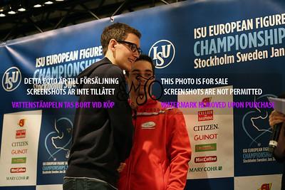 Maxim KOVTUN (RUS) and Javier FERNANDEZ ( ESP)