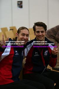 Jason Brown and Alexander Johnson
