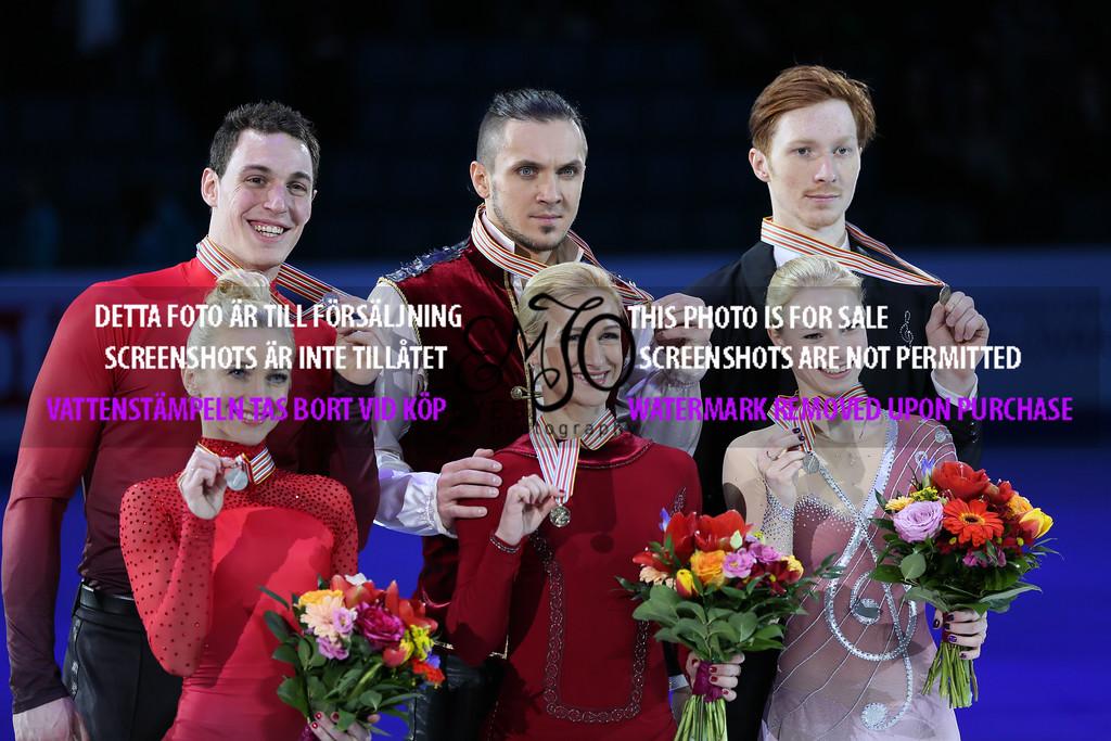 Aliona SAVCHENKO / Bruno MASSOT, GER, Tatiana VOLOSOZHAR / Maxim TRANKOV, RUS, Evgenia TARASOVA / Vladimir MOROZOV RUS