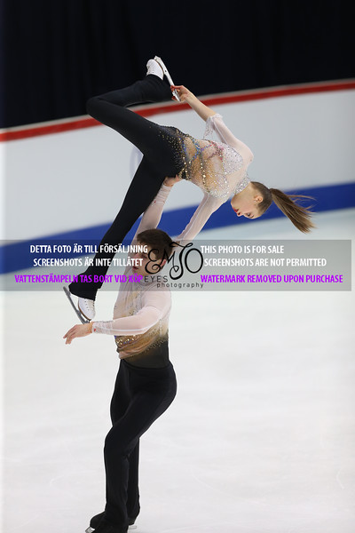 Kateryna DZITSIUK / Ivan PAVLOV UKR