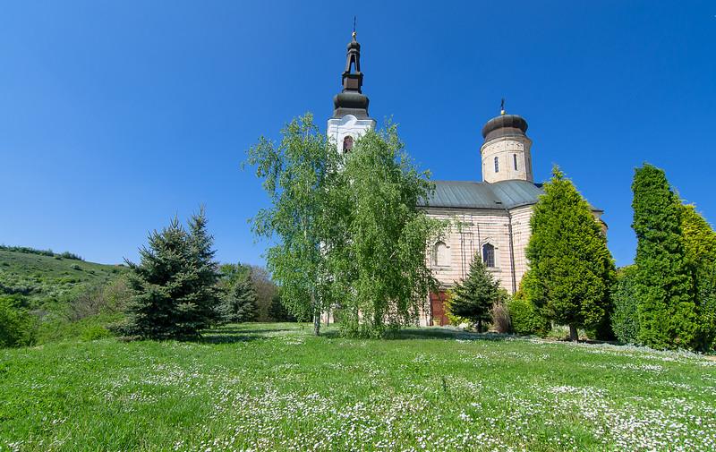 Sisatovac monastery in Fruska Gora National Park