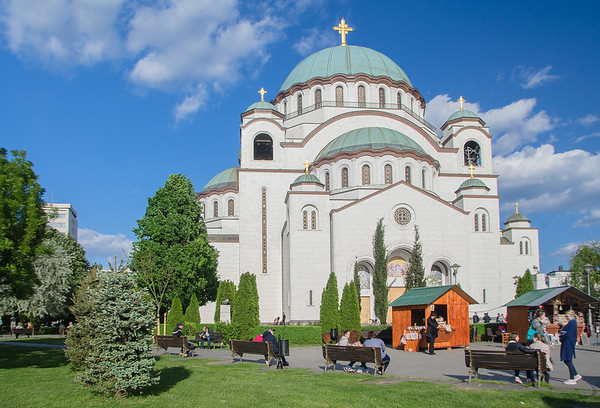 The Church of Saint Sava, Belgrade