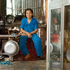 Miss Dinh is a housewife and full-time caregiver for her terminally ill husband. Dinh lost her leg walking down the road during the Vietnam war, she was in her early twenties when she stepped on the land mine. Previously, she had a difficult and heavy prosthetic that was painful and she could not walk. Dinh was fitted with a Mercer prosthetic in 2014 at the first fitting in Ben Tre and now she can do all of the household chores and care for her husband.