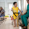 Nguyen Thien Ly, 8 years old, lost his leg in a construction accident close to his home. Nguyen says that with his new prosthetic from Mercer he will walk on two legs, go to school, and help his mom at home.