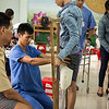 18-year-old Pham lost his leg after three rounds of Chemotherapy didn't shrink his bone tumor. He was brought to the Mercer clinic to be fitted by a nurse on the oncology ward.  Doan Thi Thanh Loan has been bringing her patients who have had amputations and can't afford prosthetics to the Mercer clinic for 4 years. Now that he has a prosthetic, Pham says he will return to high school to graduate so he can go to college.