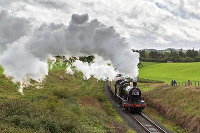 2857 Steaming up Eardington Bank