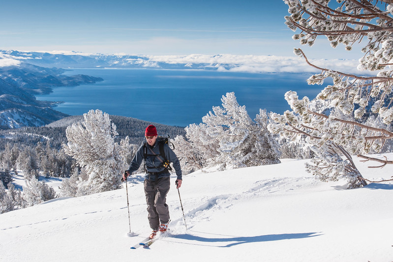 Lake Tahoe Backcountry Skiing