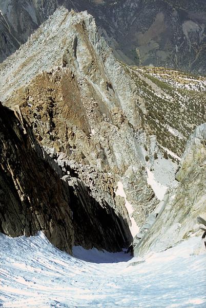 Skier Couloir