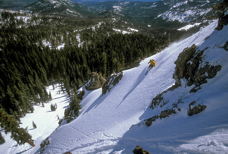 Donner Pass Telemark Skiing