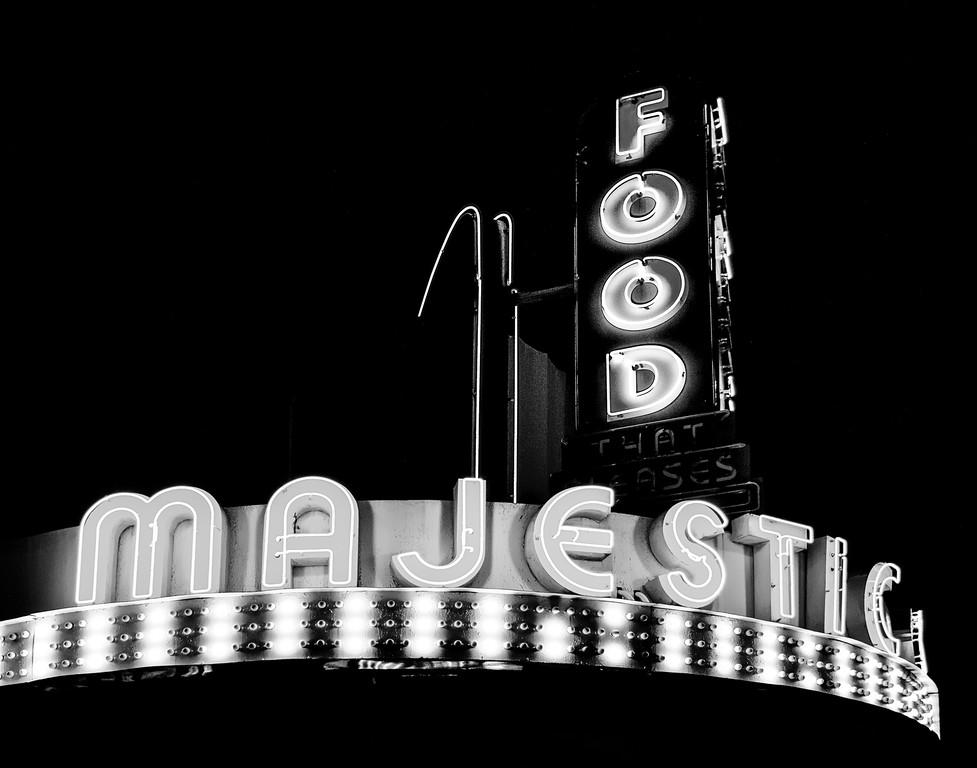 Majestic Diner Neon