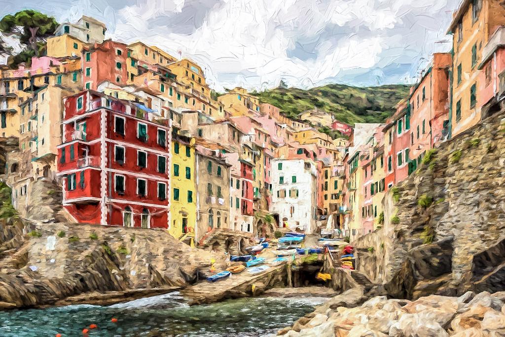 Riomaggiore Cezanne
