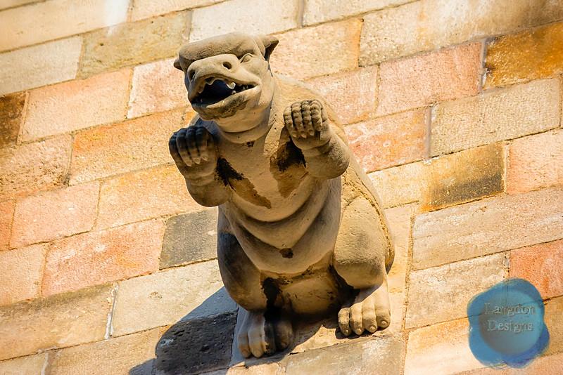 Pig Gargoyle