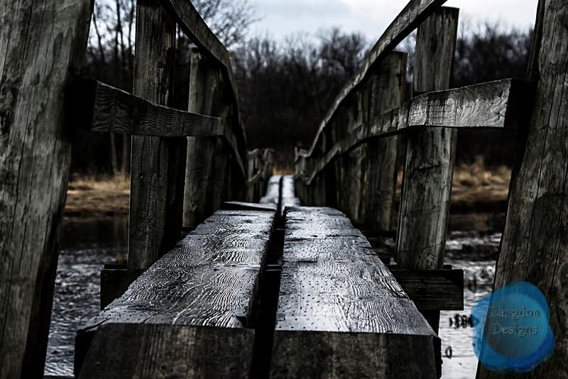 The Crooked Bridge Passing
