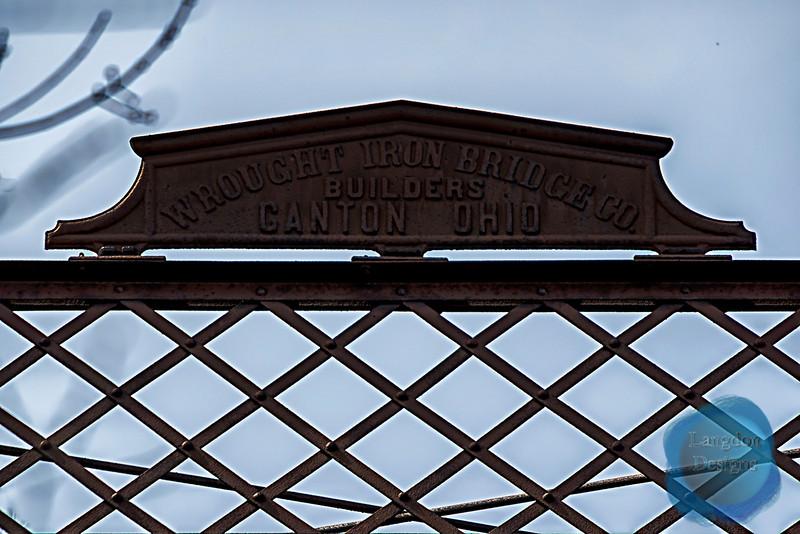 The One Lane Bridge Signage