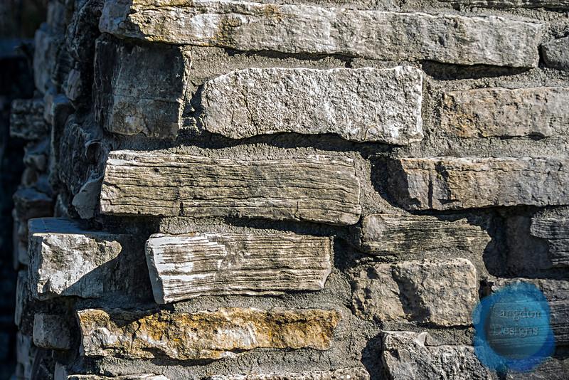 Old Rock Bricks