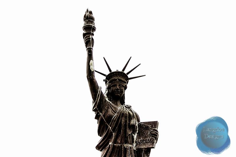 Replica Statue of Liberty