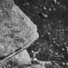 Protruding Rocks on the Desert Floor