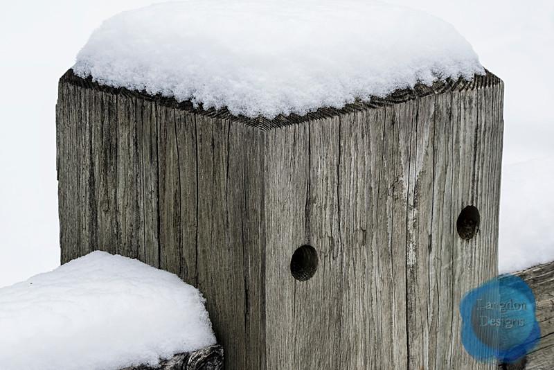 Wooden Bridge Posts