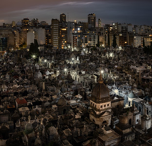 Argentina, Buenos Aires: The tomb of Eva Peron is in the famous Recoleta Cemetery in Buenos Aires.