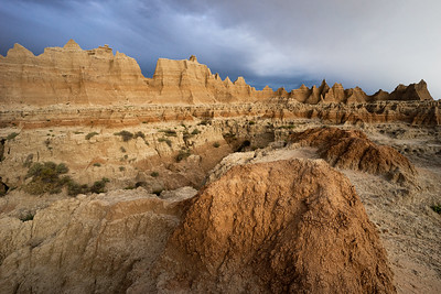 Light Strikes the Badlands