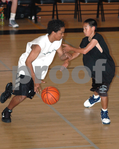 Placentia, CA - 2006 Fullcourt Press Orange County Spring Showcase presented by Focused Shooter. An invitation only event limited to 100 top OC HS underclass players that took place at El Dorado High School on May 23, 2006.