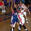 Las Vegas, NV - Houston Hoops vs Miami Tropics in the Championship game of the Vision Sports Spring Showcase at Durango High School on April 30, 2006.